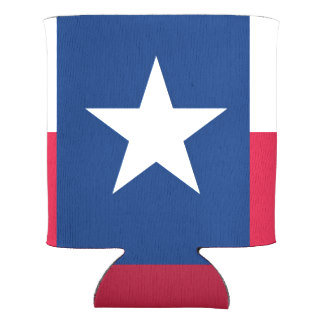 324x324 Texas Flag Can Coolers Zazzle