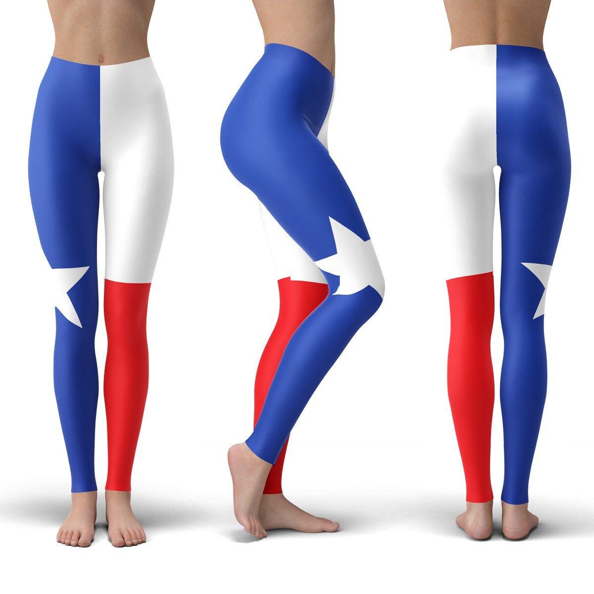 1200x1200 Texas Flag Leggings American Af