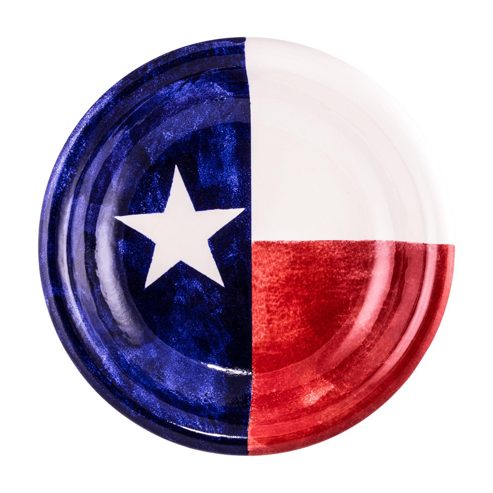 1600x1600 Texas Flag Serving Bowl Texas Capitol Gift Shop