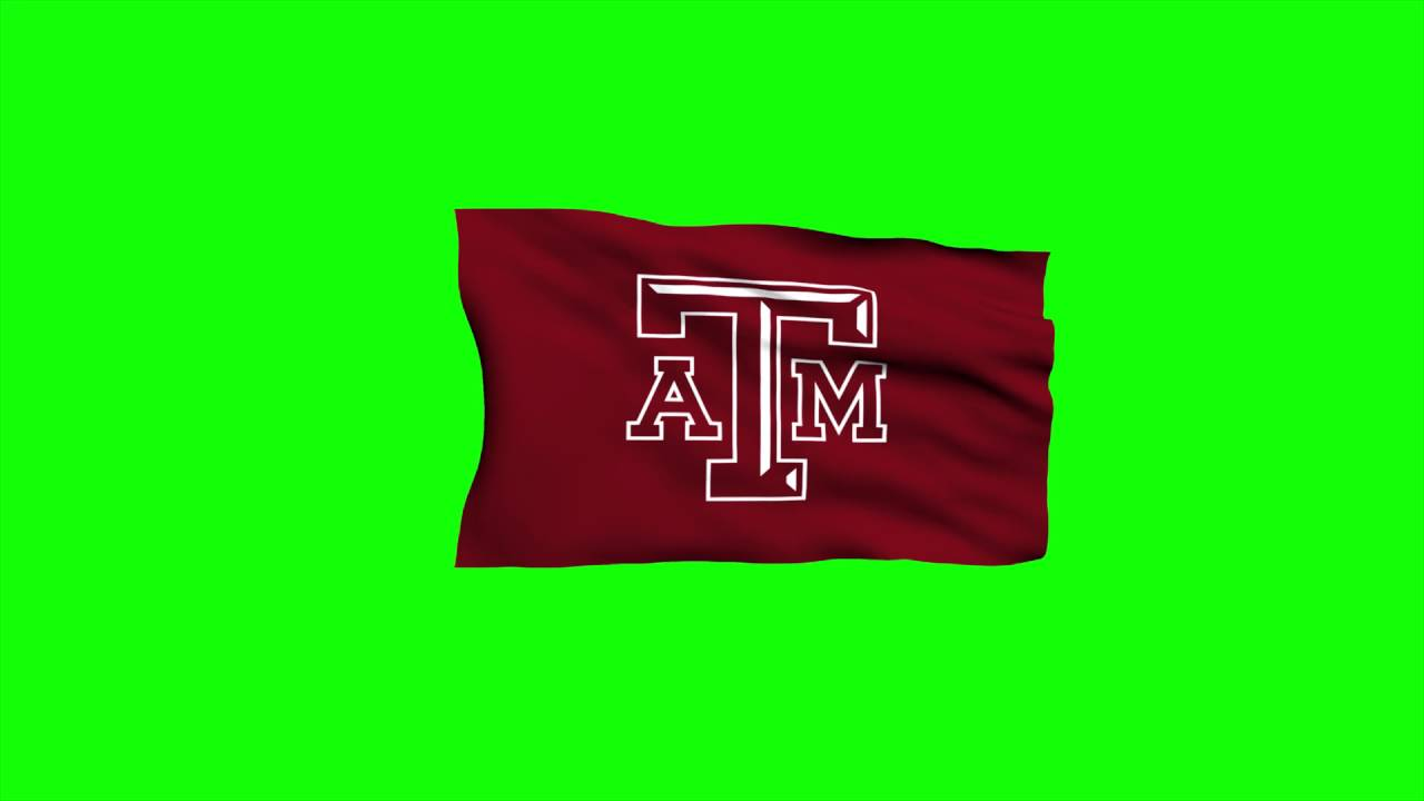 1280x720 Free Hd Video Backgrounds Texas Aampm University Logo Flag Waving