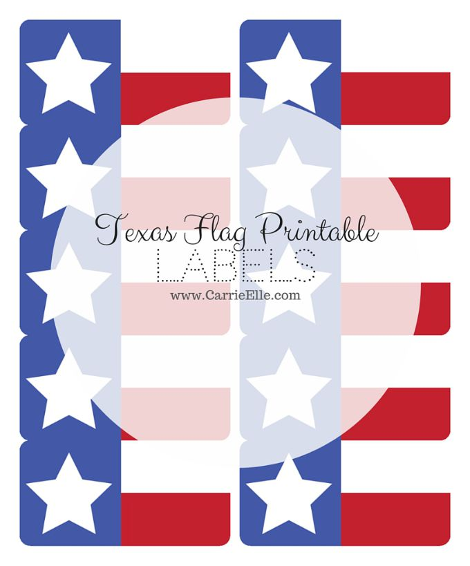 Texas Flags Clipart