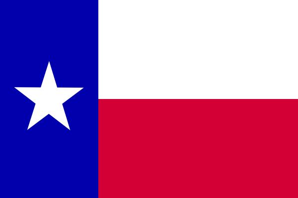 600x400 Clipart Texas Flag
