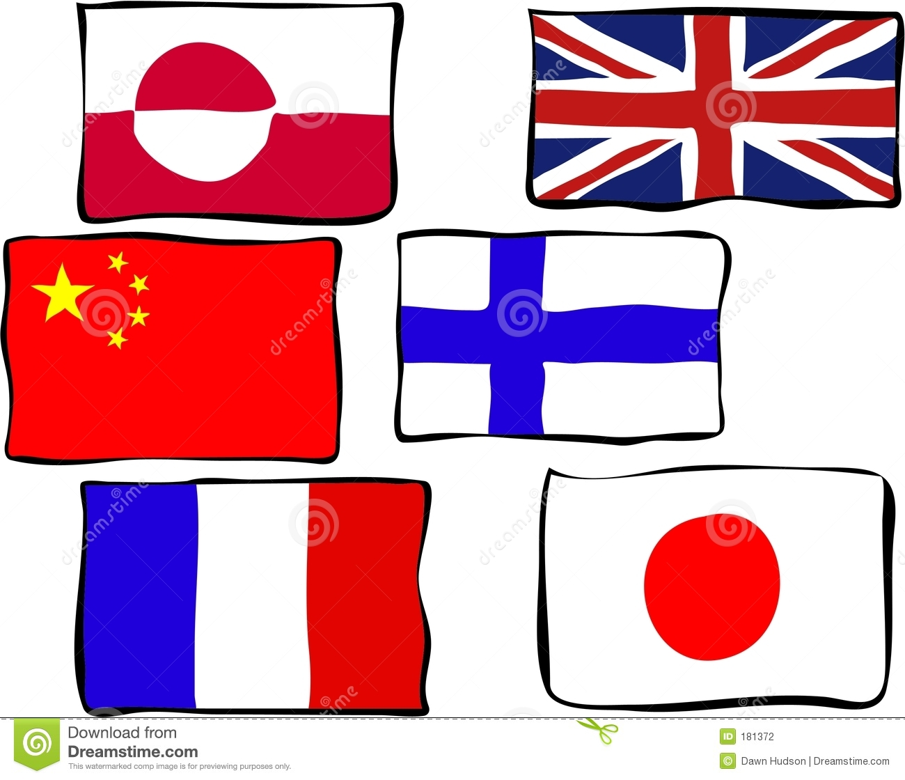 1300x1120 Flags Clipart