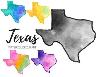 340x270 Texas Clip Art Etsy