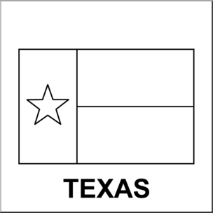 304x304 Clip Art Flags Texas Bampw I Abcteach