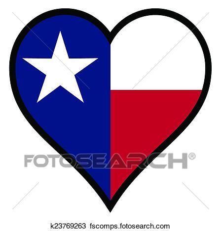 448x470 Clipart Of Love Texas K23769263
