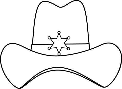 500x366 Hat Clipart Texas Cowboy