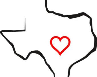 340x270 Texas Stencil Etsy