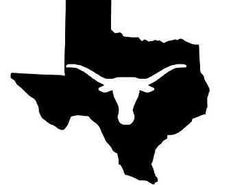 340x270 Longhorns Decal Etsy