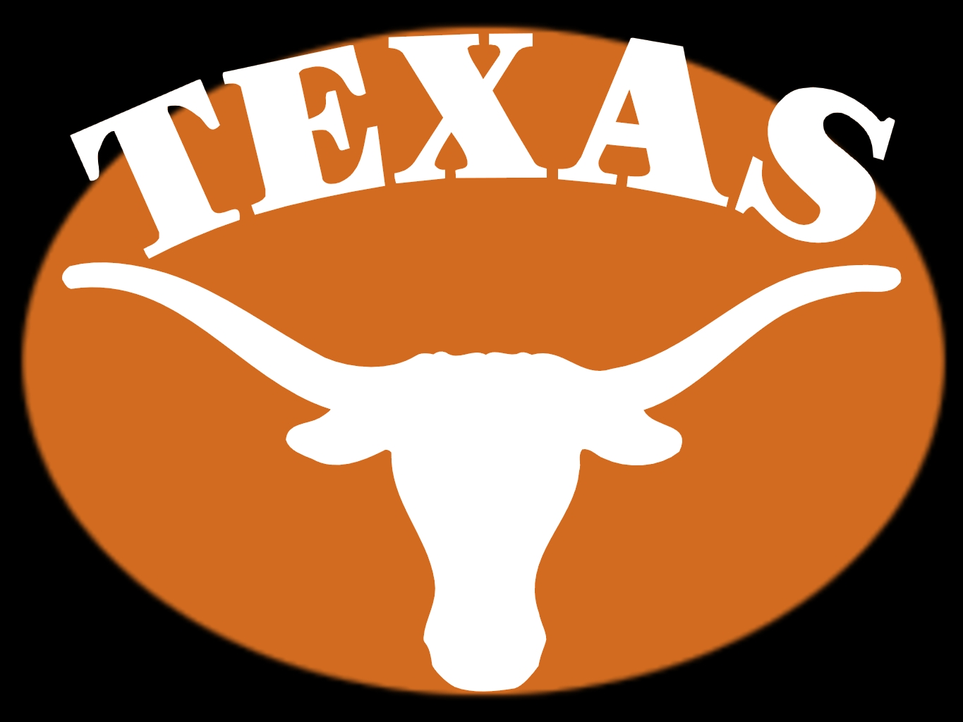 1365x1024 Longhorn Football Clipart