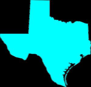 300x288 Texas Clip Art Vector 2