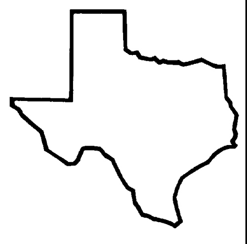 500x493 Texas Outline For Tattoo Bhs