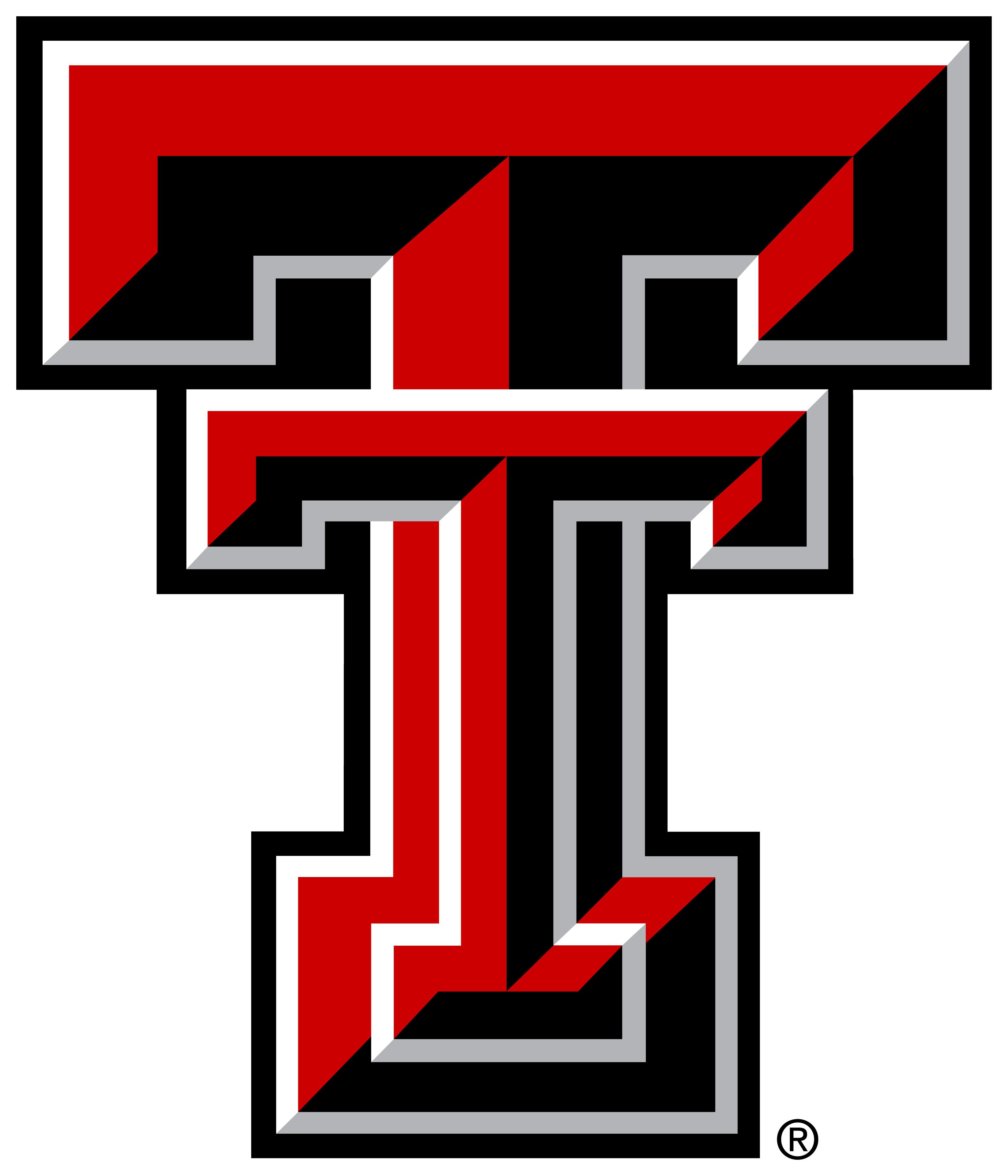 3100x3615 Texas Tech Logo Clipart Image
