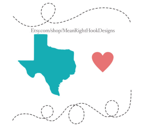 590x520 Texas Svg State Silhouette Heart Svg And Dotted Lines Instant