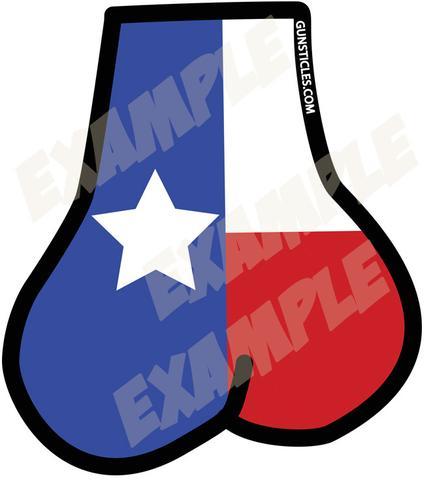 435x480 Tactical Texas Balls Sticker Gunsticles Tactical Testicles By