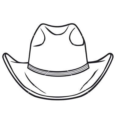 380x400 Cowboy Hat Vector Art Texas Cowboys, Vector Art