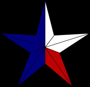 298x288 Texas Flag Clipart