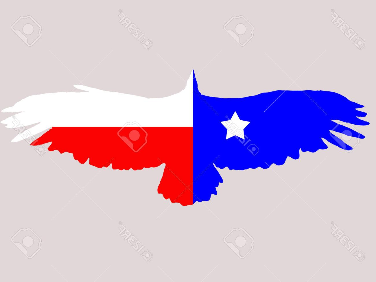 1300x975 Top 10 Illustration Of Abstract Texas Flag In Eagles Shape Stock