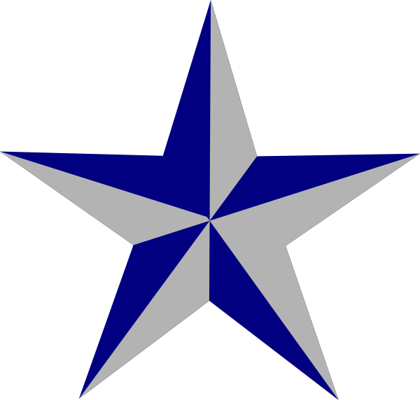 Texas Star Cliparts