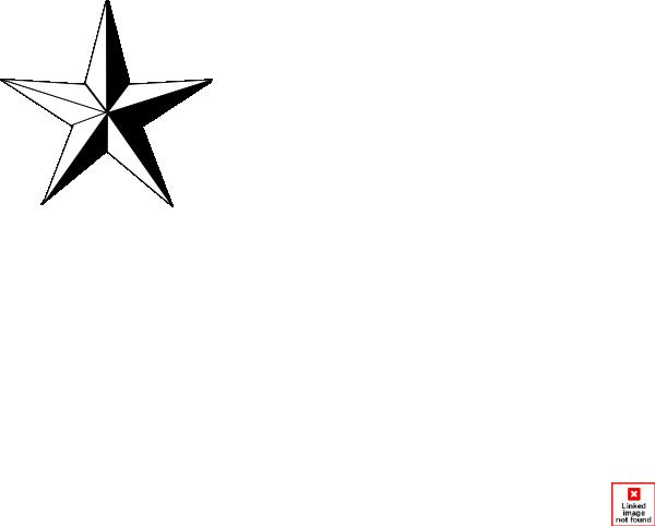 600x482 Texas Star Clip Art