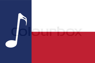 320x215 The Text For The State Of Texas With The Texas Star Stock Vector