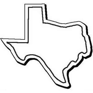 300x300 Shape Of Texas Clip Art