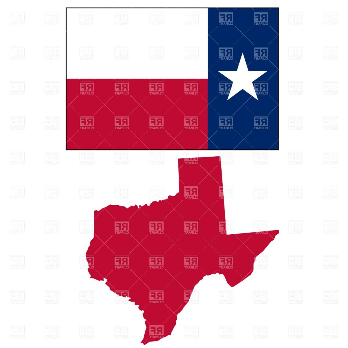 1200x1200 Best Texas State Map And Flag Download Royalty Free Vector File