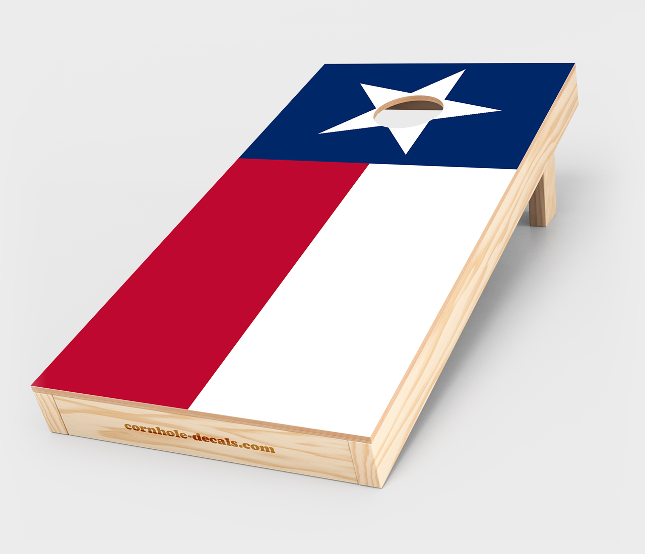 1280x1100 State Flag Cornhole Decal