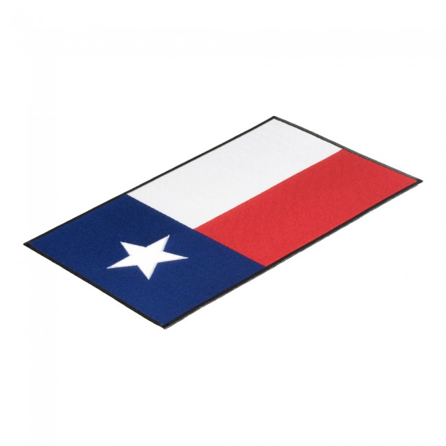 650x650 Texas State Flag Black Border Patch 50 State Flag Patches