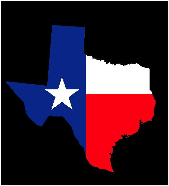539x591 Texas State Flag Decal – House Of Grafix