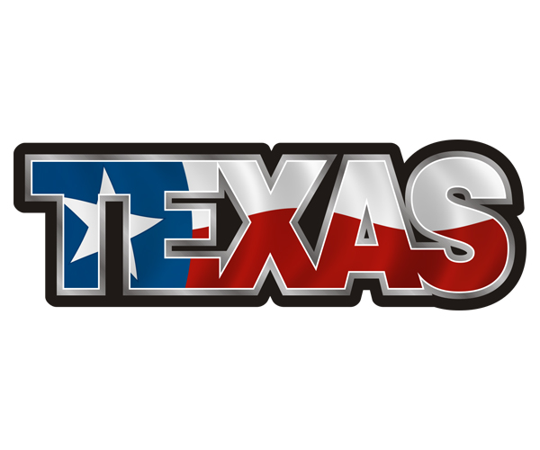 600x500 Texas State Flag Name TX Texan Sticker Decal Rotten Remains