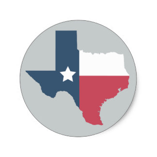 324x324 Texas State Flag Stickers Zazzle