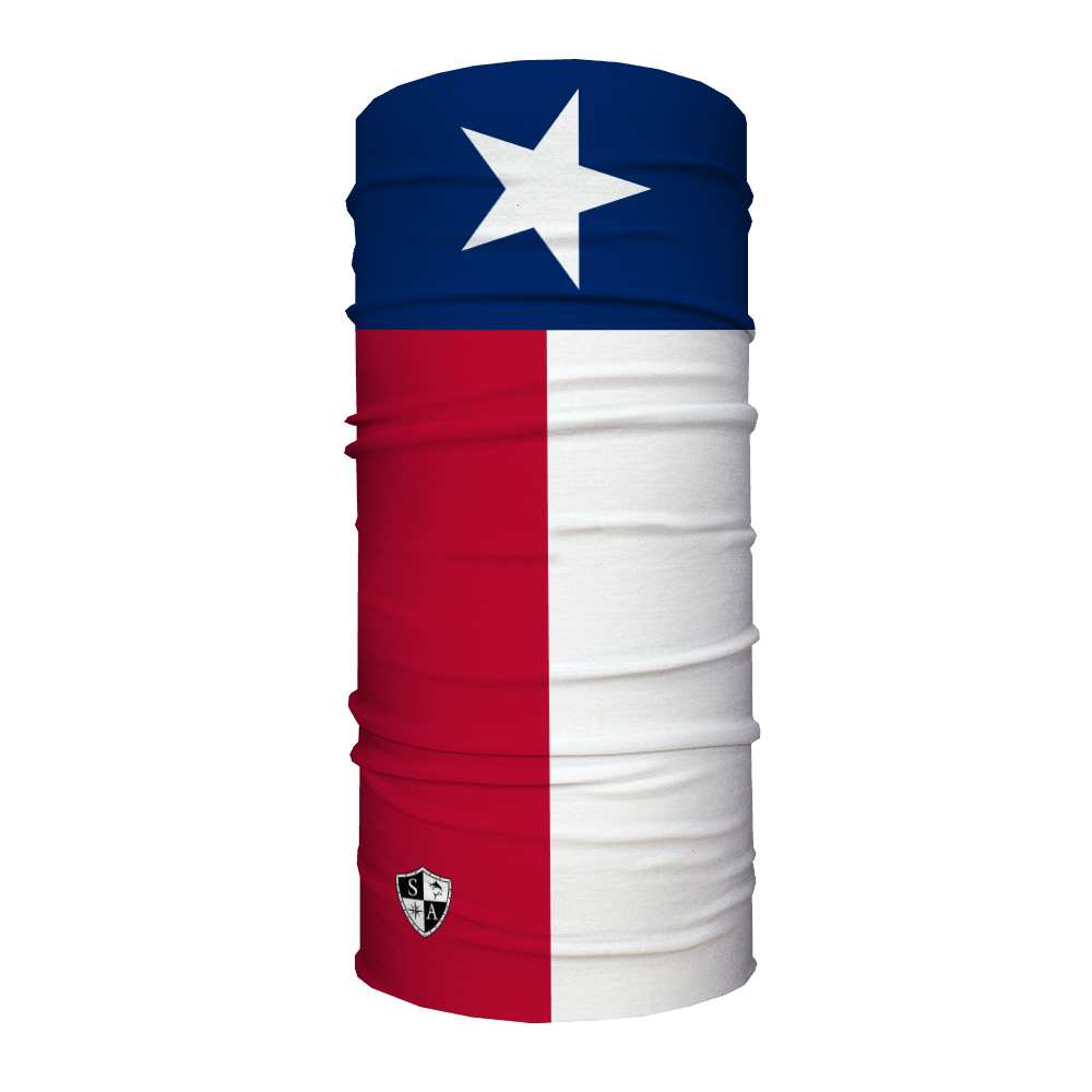1000x1000 Texas State Flag Themed Face Shield