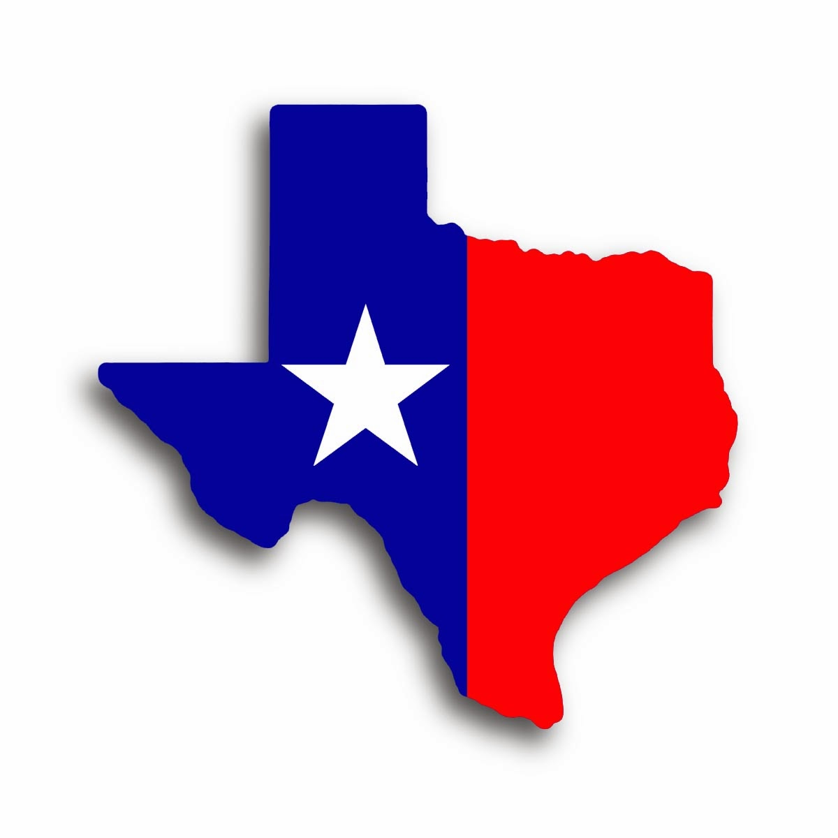 1200x1200 Texas State Clipart