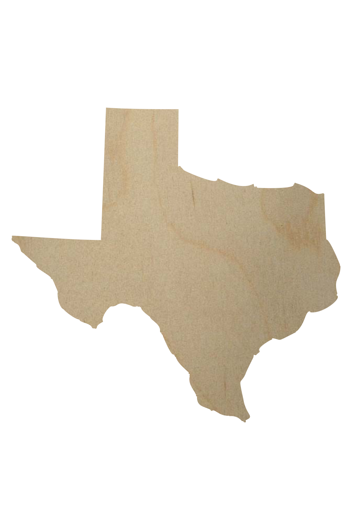 1124x1690 Wooden Texas State Shape Wooden Texas Cutout
