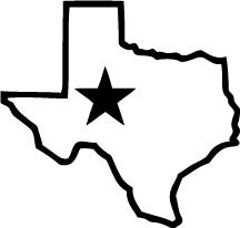 216x206 State Of Texas Logo Clip Art