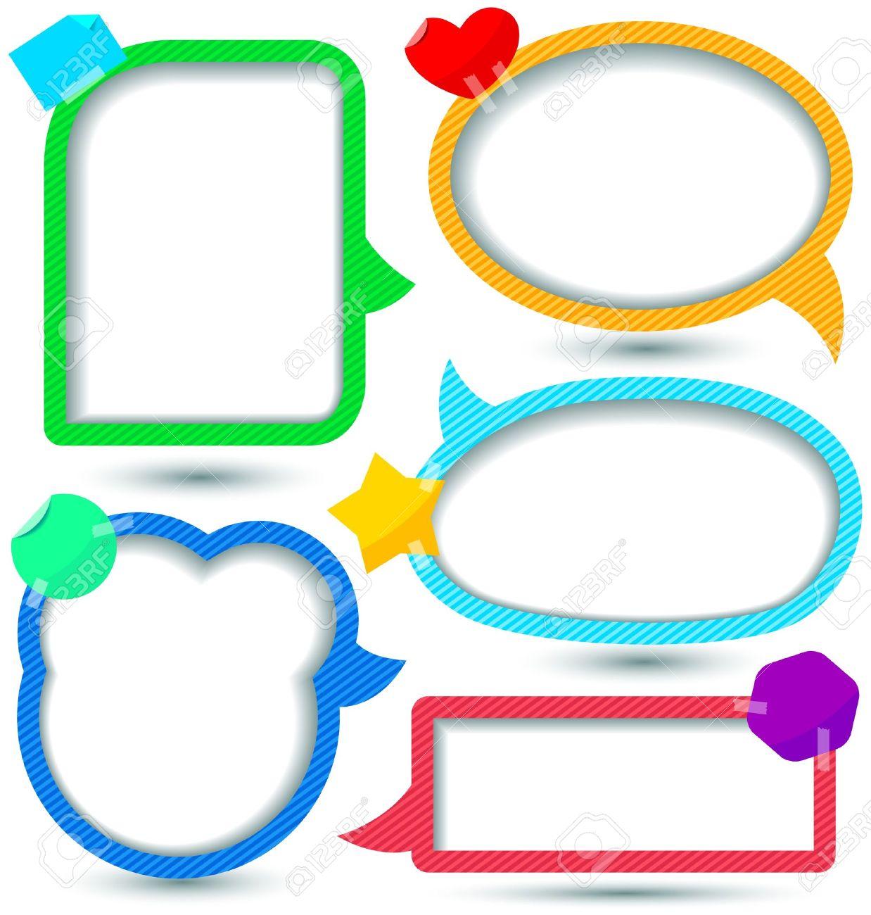 1238x1300 Cute Text Box Clipart