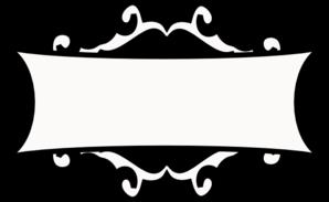 298x183 Black Frame Clip Art