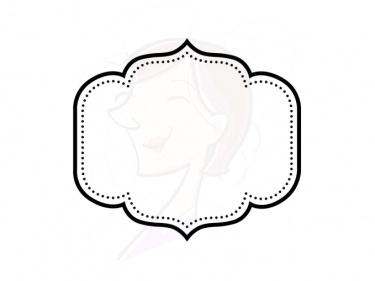375x281 Decorative Text Box Clip Art Transparent