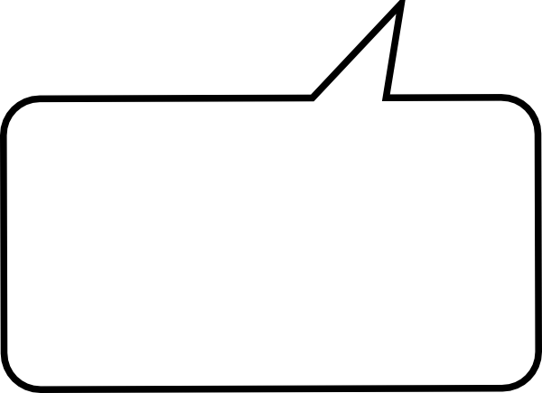 600x435 Speech Bubble Clip Art