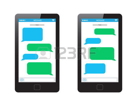 Text Message Cliparts