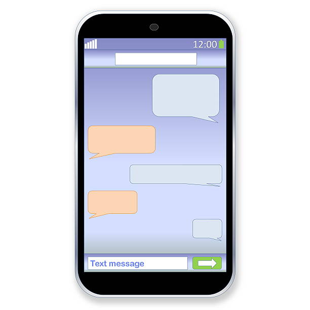 612x612 Iphone Clipart Text Message