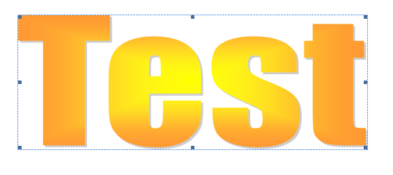 Text Shape Cliparts