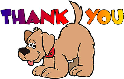 403x258 Free Animated Thank You Clipart