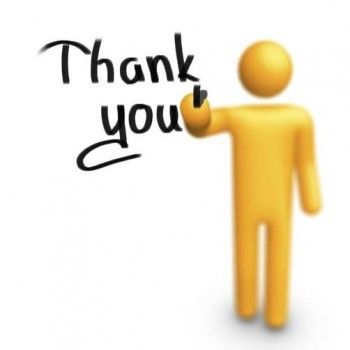 350x350 Thank You Clipart For Powerpoint Free Download