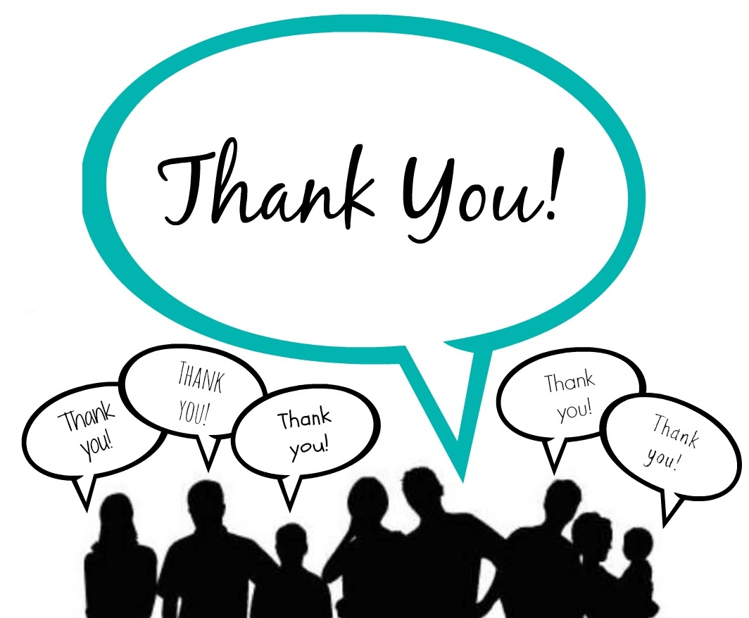 1064x878 End Clipart Thank You