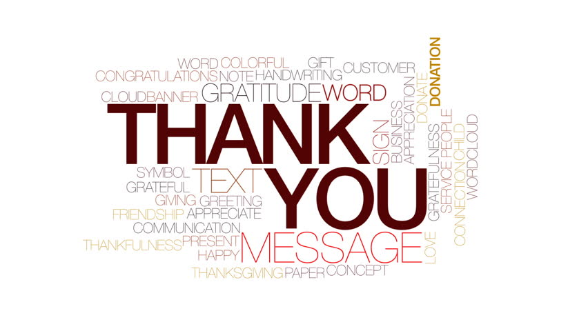 852x480 Animated Thank You Stock Footage Video Shutterstock