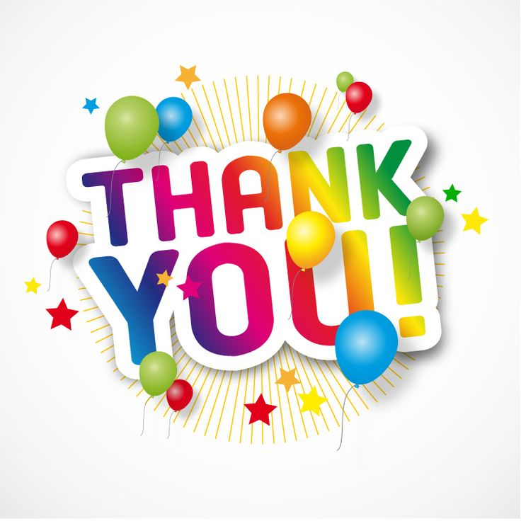 736x736 Thank You Clipart For Powerpoint Free Download