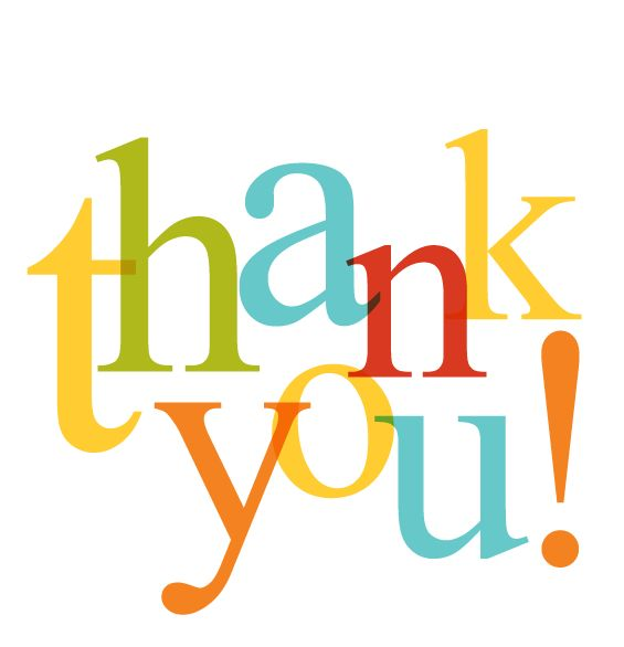 565x586 Free Clip Art Thank You