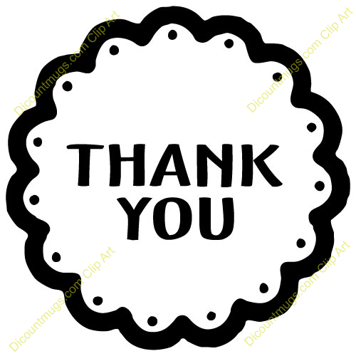 500x500 Free Clipart Thank You
